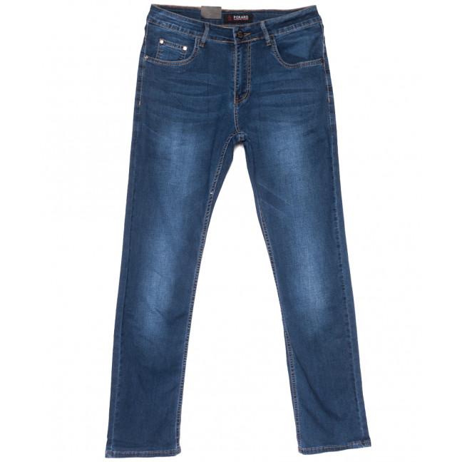 8963 Pokaro джинсы мужские полубатальные синие весенние стрейчевые (32-38, 8 ед.) Pokaro: артикул 1109560