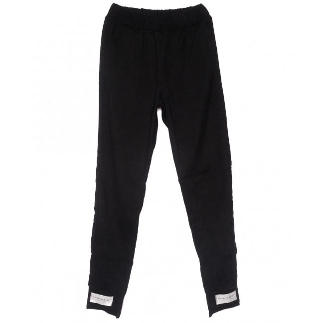 0226 черные Exclusive брюки женские вельветовые летние коттоновые (42-48,евро, 4 ед.) Exclusive: артикул 1109508