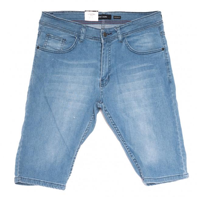 10358-5 Liwali шорты джинсовые мужские полубатальные синие стрейчевые (32-42, 8 ед.) Liwali: артикул 1108553
