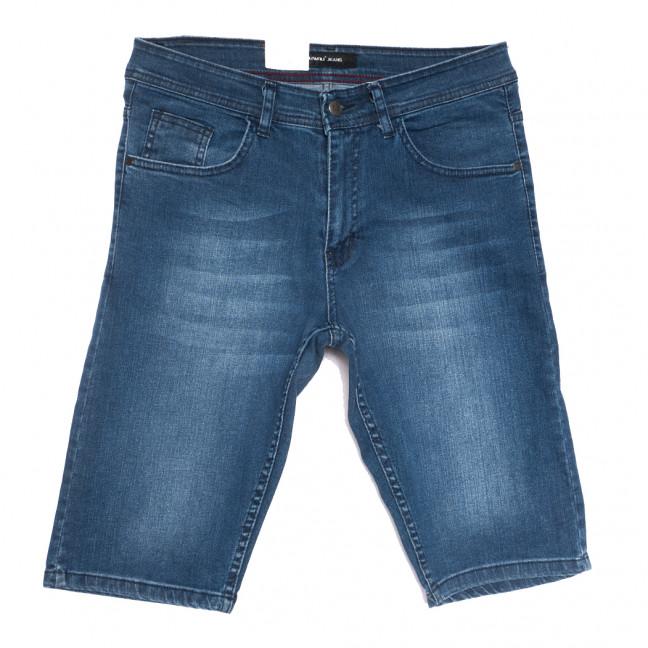 10358-4 Liwali шорты джинсовые мужские полубатальные синие стрейчевые (32-42, 8 ед.) Liwali: артикул 1108552