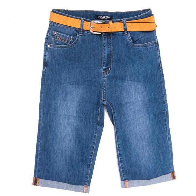 9010 Pealtia шорты джинсовые женские батальные синие стрейчевые (32-42, 6 ед.) Pealtia: артикул 1108905