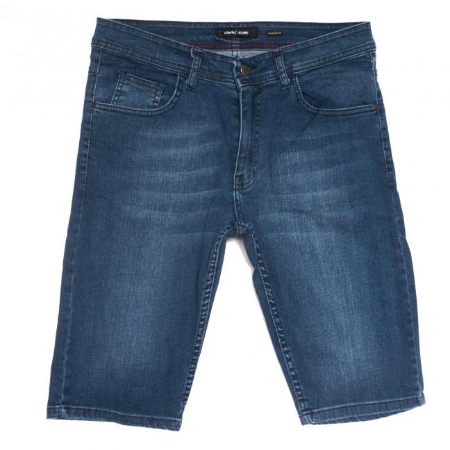 10358-2 Liwali шорты джинсовые мужские полубатальные синие стрейчевые (32-42, 8 ед.) Liwali: артикул 1108549