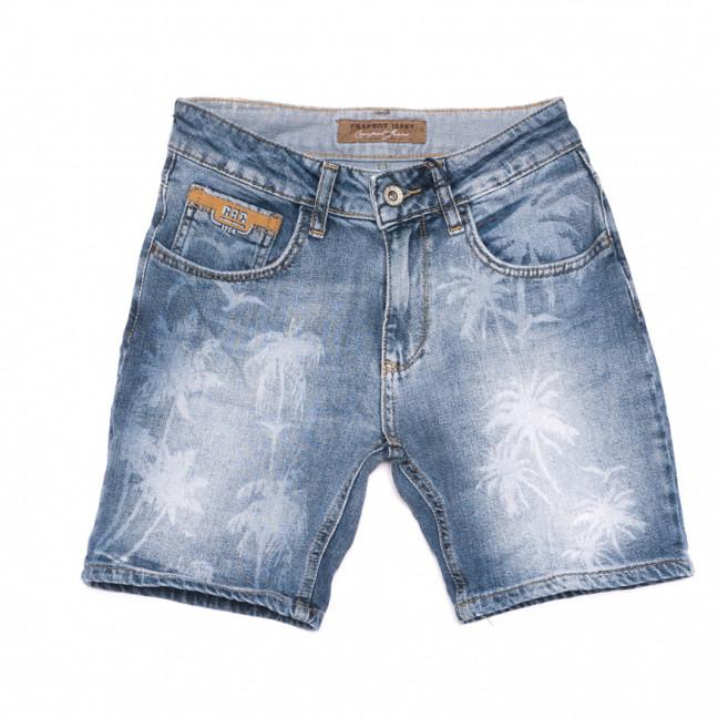 4455 Cracpot шорты джинсовые женские синие стрейчевые (26-30, 5 ед.) Cracpot: артикул 1108427