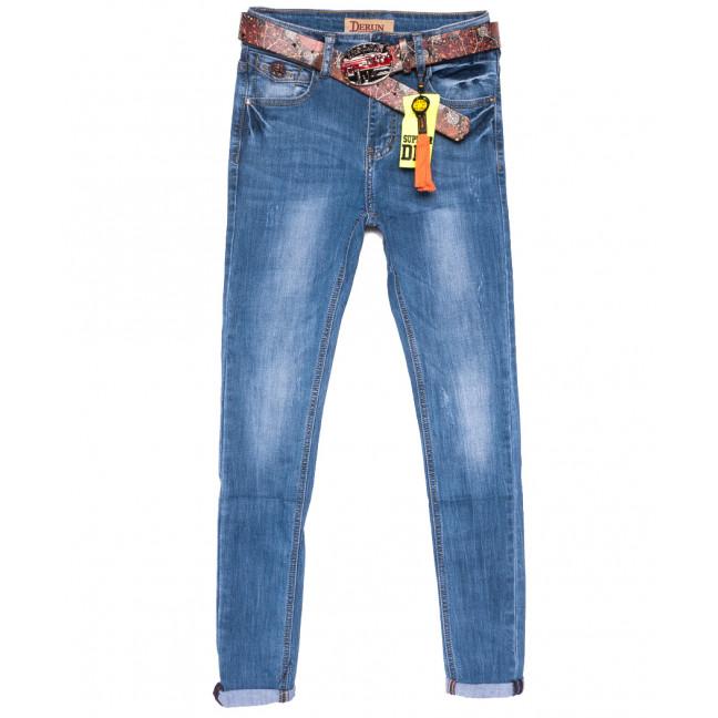 5135 Vanver джинсы женские с царапками синие весенние стрейчевые (25-30, 6 ед.) Vanver: артикул 1108627