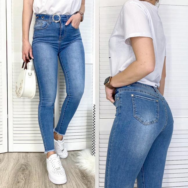 3641 New jeans джинсы женские зауженные синие весенние стрейчевые (25-30, 6 ед.) New Jeans: артикул 1103370