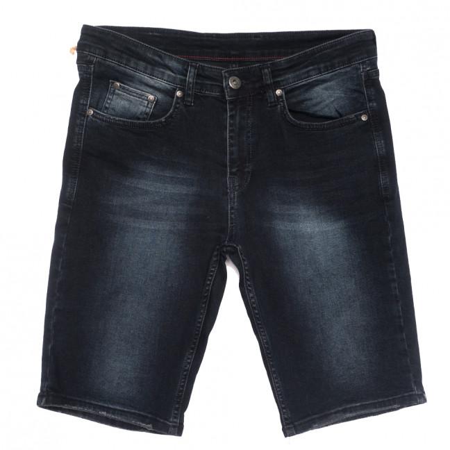 0414 NSJ шорты джинсовые мужские полубатальные серые стрейчевые (32-38, 8 ед.) NSJ: артикул 1109005