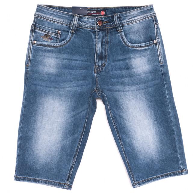 3912 Crossnese шорты джинсовые мужские синие стрейчевые (29-38, 8 ед.) Crossnese: артикул 1109119
