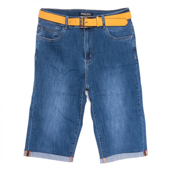 9009 Pealtia шорты джинсовые женские батальные синие стрейчевые (32-42, 6 ед.) Pealtia: артикул 1108933