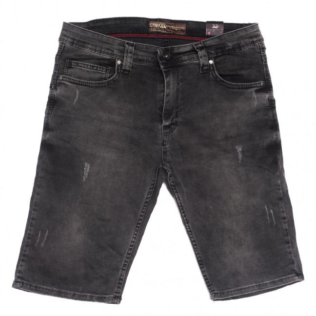 6671 Corcix шорты джинсовые мужские с царапками серые стрейчевые (29-36, 8 ед.) Corcix: артикул 1108733