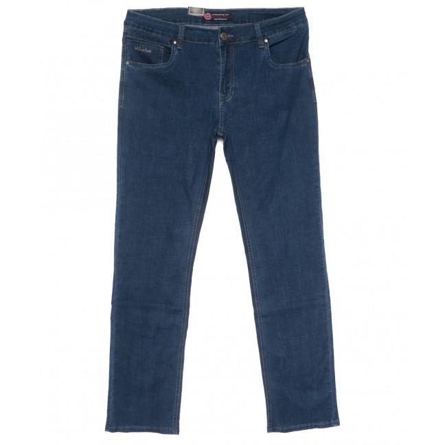 9507 God Bаron джинсы мужские батальные синие весенние стрейчевые (36-46, 8 ед.) God Baron: артикул 1109082