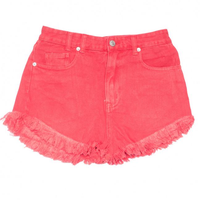 9032-9 красные Saint Wish шорты джинсовые женские коттоновые (25-30, 6 ед.) Saint Wish: артикул 1108236