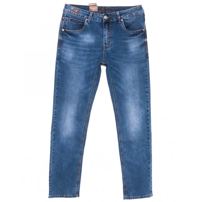 9449 God Bаron джинсы мужские синие весенние стрейчевые (29-38, 8 ед.) God Baron: артикул 1109075