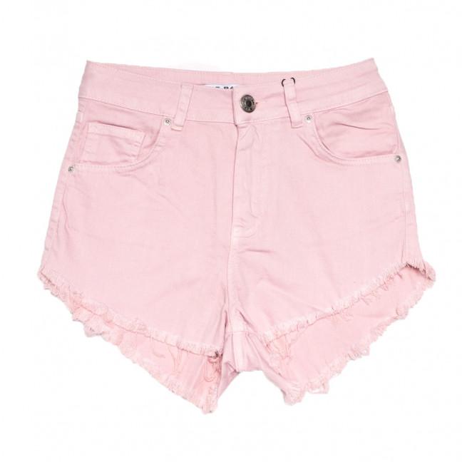 1076 Pudra Its Basic шорты джинсовые женские розовые стрейчевые (34-40,евро, 5 ед.) Its Basic: артикул 1108424