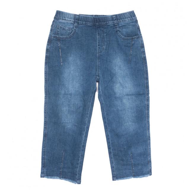 9017 Saint Wish шорты джинсовые женские батальные синие стрейчевые (31-38, 6 ед.) Saint Wish: артикул 1108219