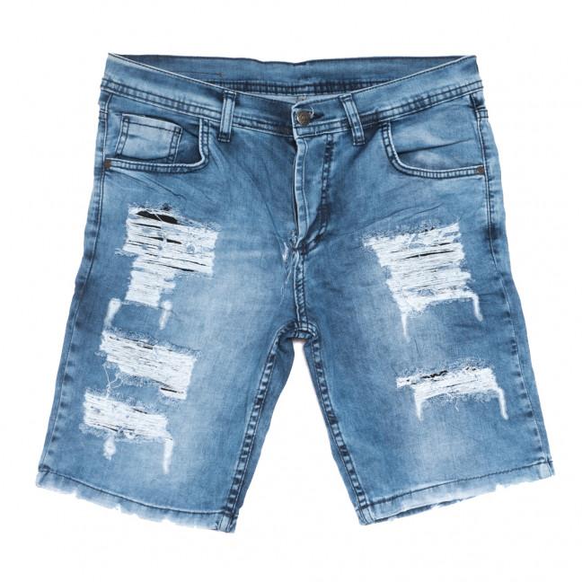 9227 Neo Cvlli шорты джинсовые мужские с рванкой синие стрейчевые (29-36, 7 ед.) Neo Cvlli: артикул 1108570