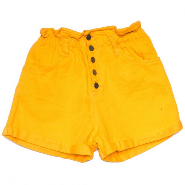 0226 желтые Defile шорты джинсовые женские на резинке коттоновые (34-40,евро, 6 ед.) Defile: артикул 1109476