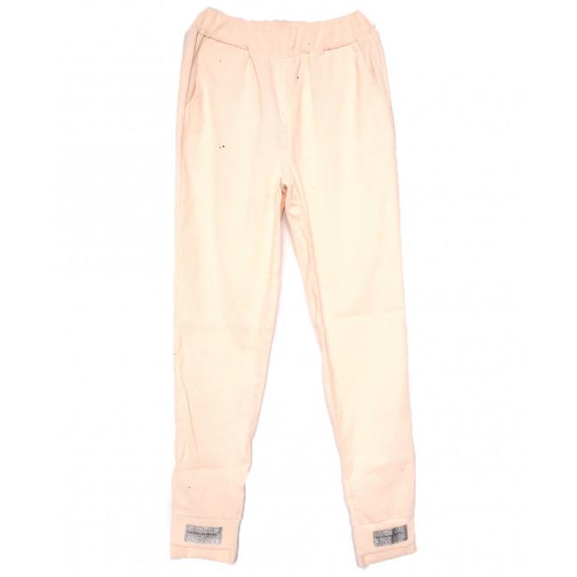 0226 бежевые Exclusive брюки женские вельветовые летние коттоновые (42-48,евро, 4 ед.) Exclusive: артикул 1109509