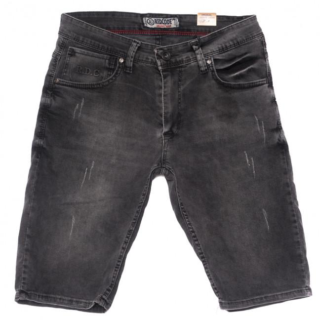 6773 Redcode шорты джинсовые мужские с царапками серые стрейчевые (29-36, 8 ед.) Redcode: артикул 1109004