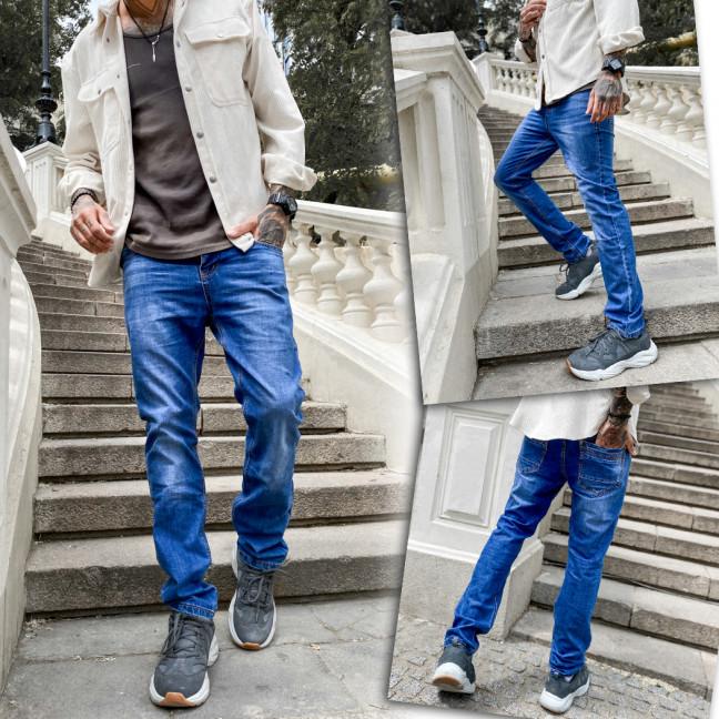 0913 Bullmad джинсы мужские синие весенние котоновые (30-38, 8 ед.) Bullmad: артикул 1109214