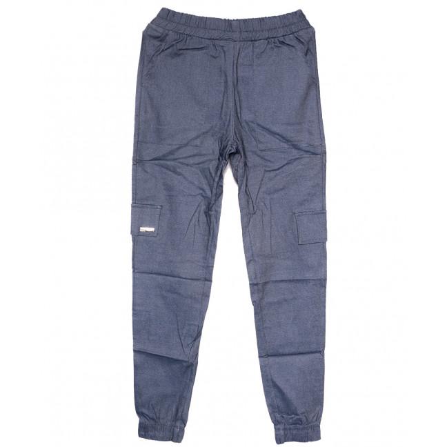 0215 синие Exclusive брюки карго женские летние стрейчевые (42-48,евро, 4 ед.) Exclusive: артикул 1109504