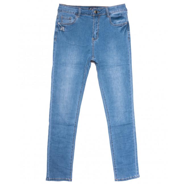 9523 LDM джинсы женские батальные синие весенние стрейчевые (31-38, 6 ед.) LDM: артикул 1109359