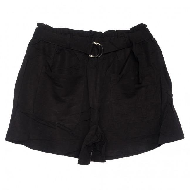 2351 черные Saint Wish шорты женские стрейчевые (S-2XL, 5 ед.) Saint Wish: артикул 1108223