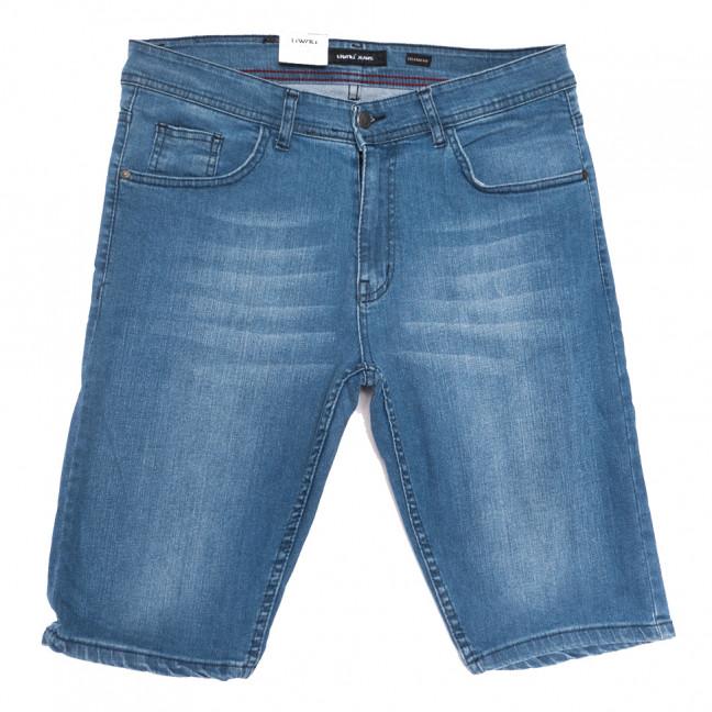 10358-6 Liwali шорты джинсовые мужские полубатальные синие стрейчевые (32-42, 8 ед.) Liwali: артикул 1108554