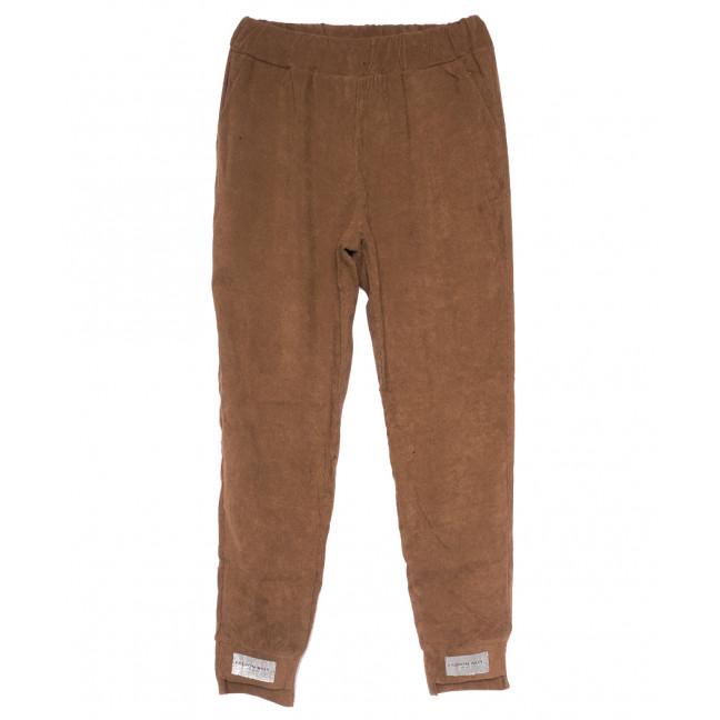0226 коричневые Exclusive брюки женские вельветовые летние коттоновые (42-48,евро, 4 ед.) Exclusive: артикул 1109507