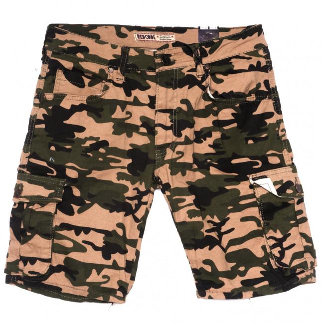 6706 Redcode шорты джинсовые мужские камуфляжные стрейчевые (29-36, 8 ед.) Redcode: артикул 1109471