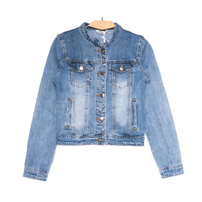0357 Zijinyan куртка джинсовая женская синяя весенняя коттоновая (S-3XL, 6 ед.) Zijinyan: артикул 1109366