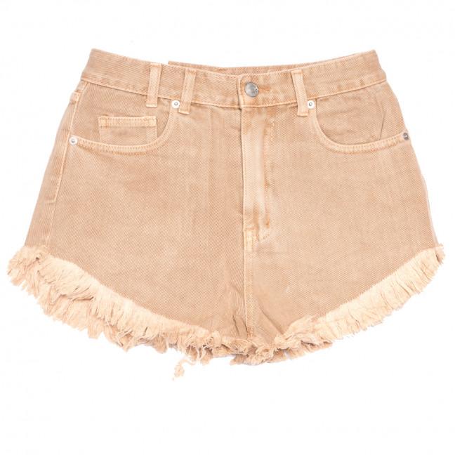9032-7 бежевые Saint Wish шорты джинсовые женские коттоновые (25-30, 6 ед.) Saint Wish: артикул 1108237
