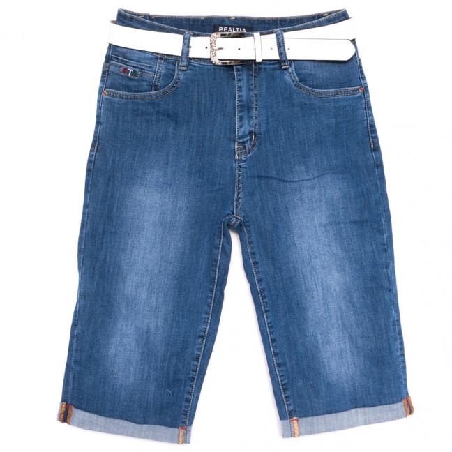 1689 Pealtia шорты джинсовые женские батальные синие стрейчевые (31-38, 6 ед.) Pealtia: артикул 1108900