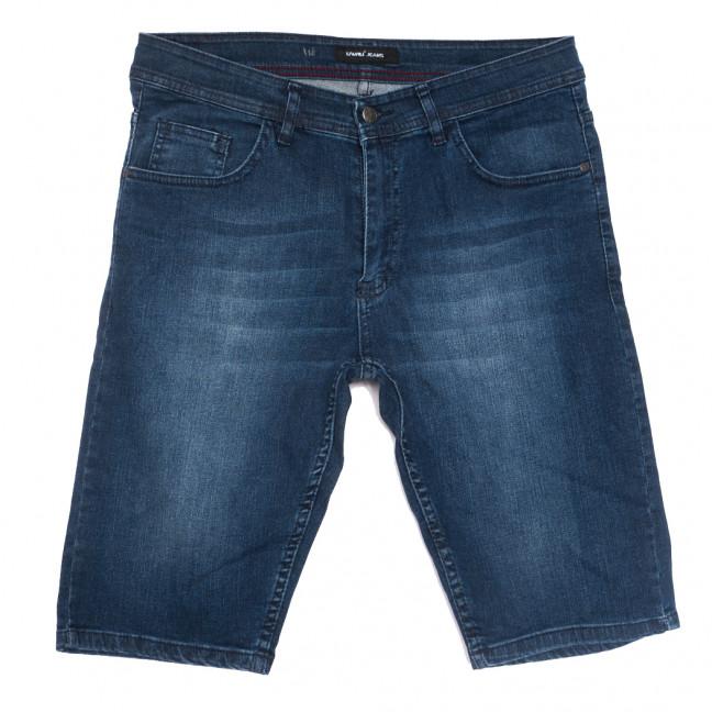 10358-3 Liwali шорты джинсовые мужские полубатальные синие стрейчевые (32-42, 8 ед.) Liwali: артикул 1108550