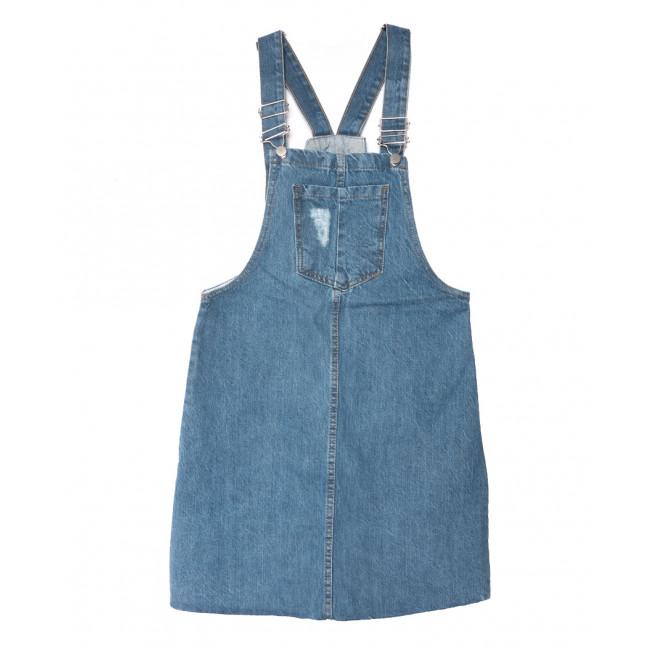 0130 Defile сарафан джинсовый синий весенний коттоновый (34-40,евро, 6 ед.) Defile: артикул 1108269