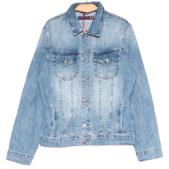 0721 Disqunew куртка джинсовая мужская синяя весенняя коттоновая (М-4XL, 6 ед.) Disqunew: артикул 1109106