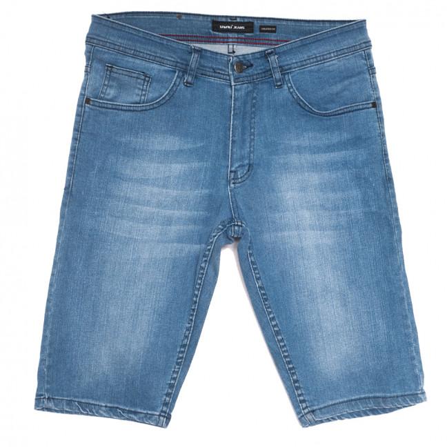 10358-1 Liwali шорты джинсовые мужские полубатальные синие стрейчевые (32-42, 8 ед.) Liwali: артикул 1108548