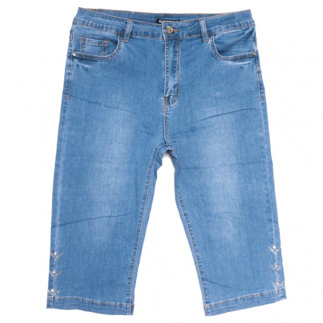 9518 LDM шорты джинсовые женские батальные синие стрейчевые (32-42, 6 ед.) LDM: артикул 1109352