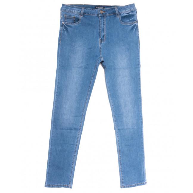 9520 LDM джинсы женские батальные синие весенние стрейчевые (32-42, 6 ед.) LDM: артикул 1109356