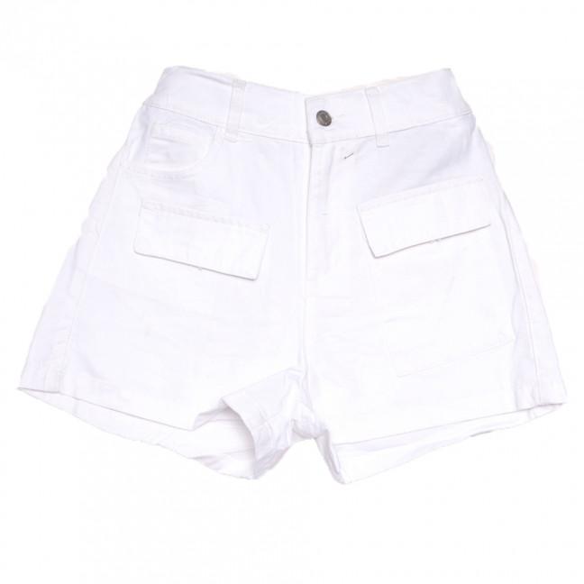 9075-2 белые Saint Wish шорты джинсовые женские стрейчевые (XS-XL, 5 ед.) Saint Wish: артикул 1108229