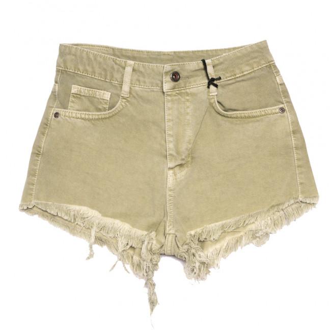 4436 Haki Cracpot шорты джинсовые женские коттоновые (25-29, 5 ед.) Cracpot: артикул 1108429