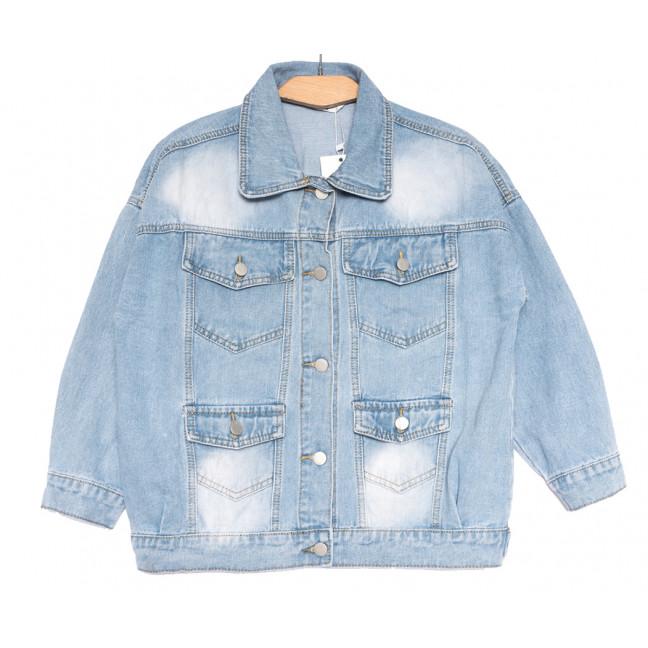 8056 Zijinyan куртка джинсовая женская синяя весенняя коттоновая (S-2XL, 6 ед.) Zijinyan: артикул 1109365
