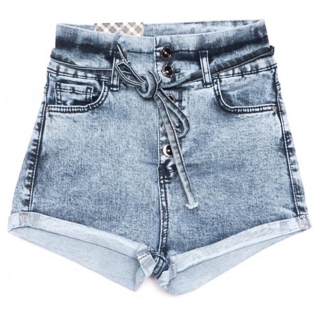 0798 Red Moon шорты джинсовые женские синие стрейчевые (25-30, 6 ед.) Red Moon: артикул 1109152