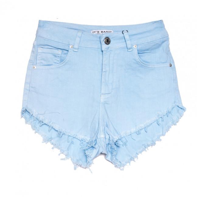 1076 Mavi Its Basic шорты джинсовые женские голубые стрейчевые (34-40,евро, 5 ед.) Its Basic: артикул 1108426