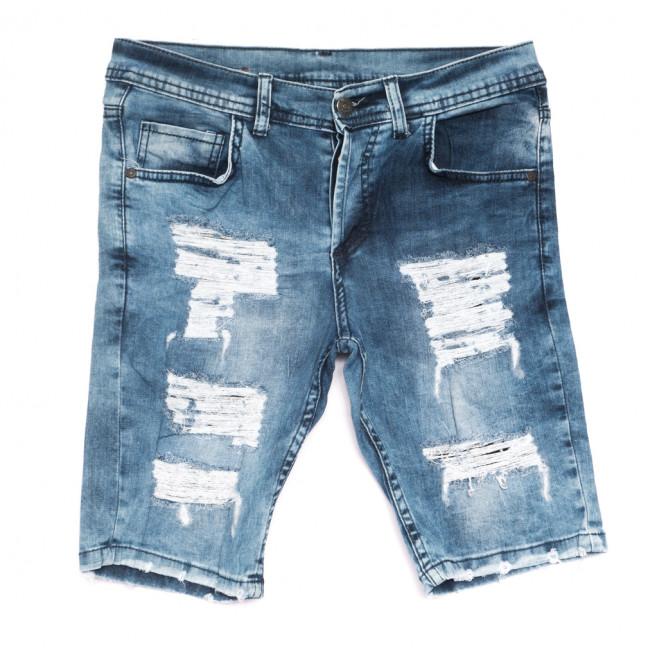 9227 Neo Cvlli шорты джинсовые мужские с рванкой синие стрейчевые (29-36, 7 ед.) Neo Cvlli: артикул 1108567
