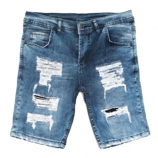 9227-1 Neo Cvlli шорты джинсовые мужские с рванкой синие стрейчевые (29-36, 7 ед.) Neo Cvlli: артикул 1108568
