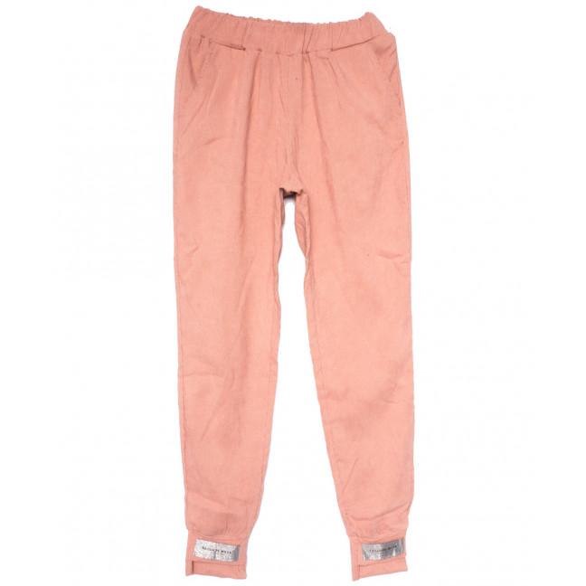 0226 розовые Exclusive брюки женские вельветовые летние коттоновые (42-48,евро, 4 ед.) Exclusive: артикул 1109506