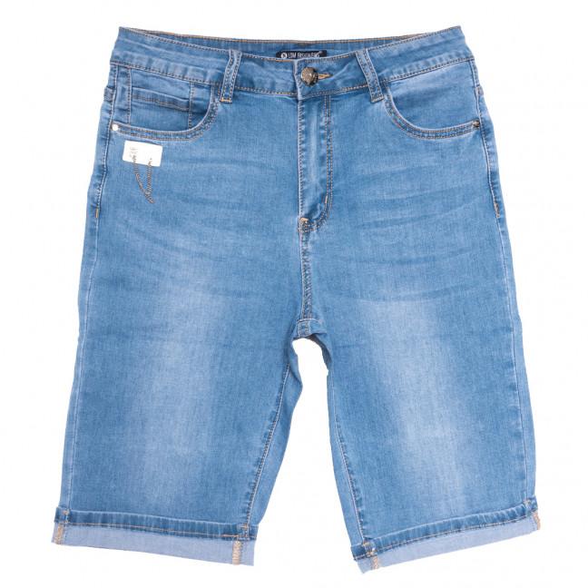 9527 LDM шорты джинсовые женские батальные синие стрейчевые (30-36, 6 ед.) LDM: артикул 1109354