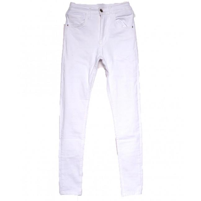 0212 Dobre джинсы женские белые весенние стрейчевые (34-42,евро, 5 ед.) Dobre: артикул 1108978
