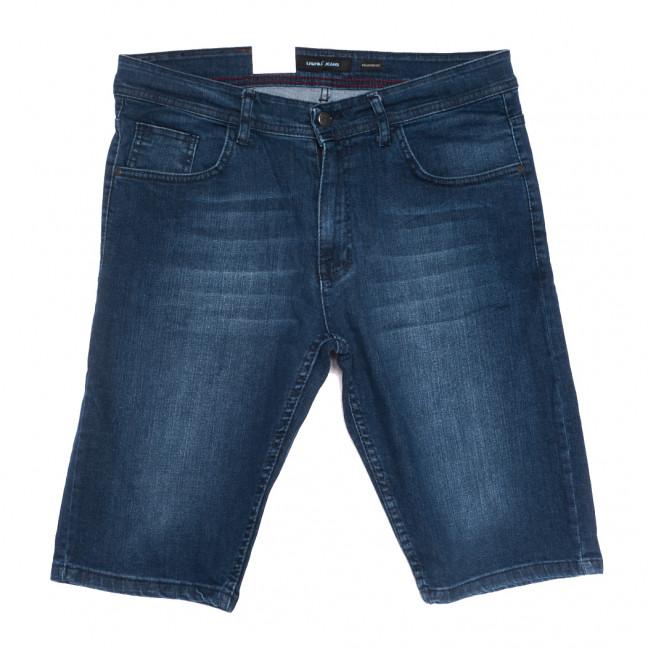 10358 Liwali шорты джинсовые мужские полубатальные синие стрейчевые (32-42, 8 ед.) Liwali: артикул 1108546