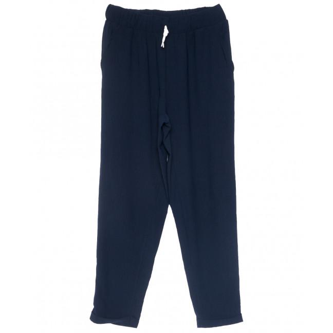 0222 темно-синие Exclusive брюки женские спортивные батальные летние стрейчевые (50-54, 3 ед.) Exclusive: артикул 1109491